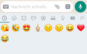 kuss smiley whatsapp