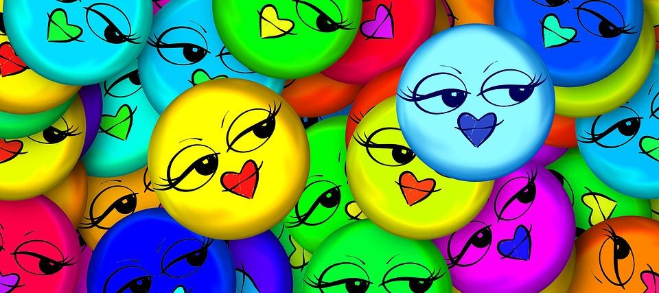 smiley kuss zeichen