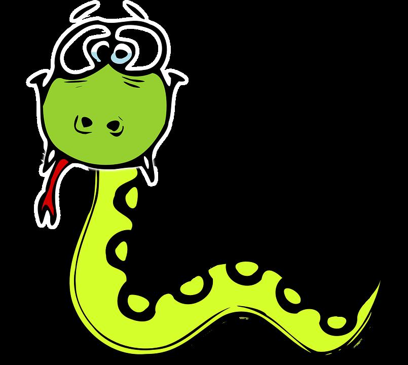 Smiley schlange