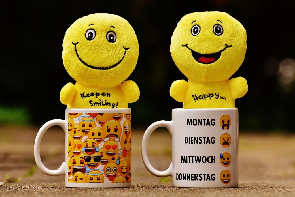 smiley kaffeetasse